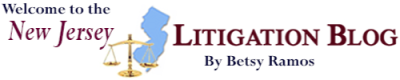 NJ Litigation Blog